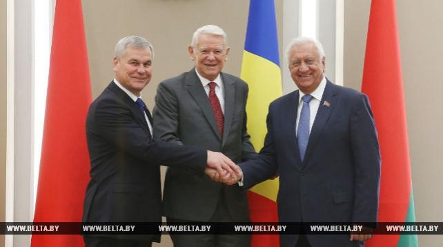 Мясникович и Андрейченко встретились с министром иностранных дел Румынии