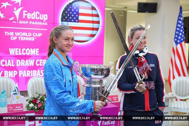 Белоруска Александра Саснович и американка Коко Вандевеге откроют финальный матч Кубка Федерации
