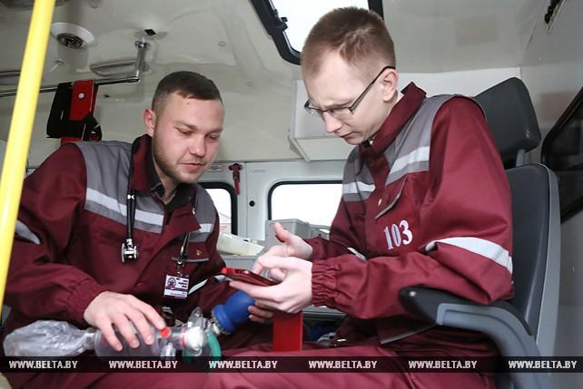 Сотрудники Гродненской станции скорой медицинской помощи разработали мобильное приложение