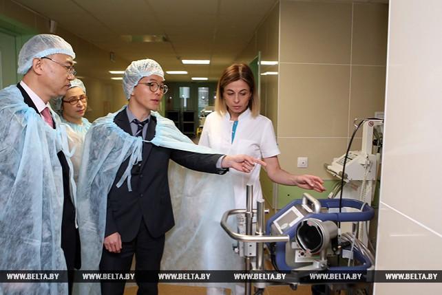 Инновационную технологию оказания помощи при тяжелых вирусных пневмониях внедряют в Беларуси