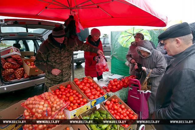 Итоговая осенняя сельскохозяйственная ярмарка потребительской кооперации в Минске