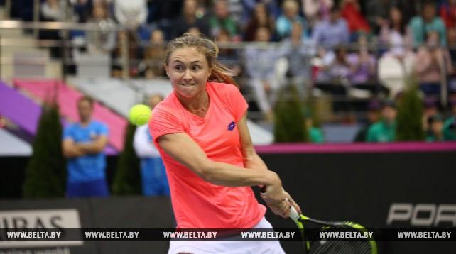 Александра Саснович сравняла счет в финале Кубка Федерации с американками - 2:2