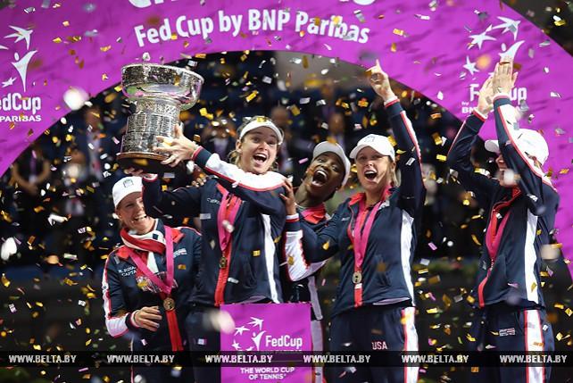 Белорусские теннисистки уступили в финале Кубка Федерации команде США со счетом 2:3