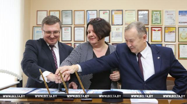 Гашение почтовой марки в честь Года науки состоялось в Минске