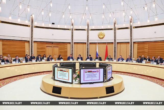 Заседание белорусско-российского совета по долгосрочному сотрудничеству Беларуси и Калининградской области