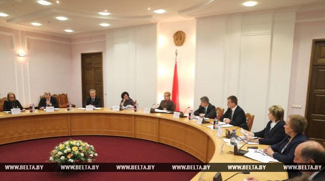 Заседание Центризбиркома по подготовке к местным выборам