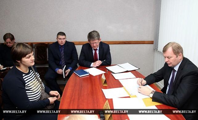 Доманевский провел выездной прием граждан в Краснополье