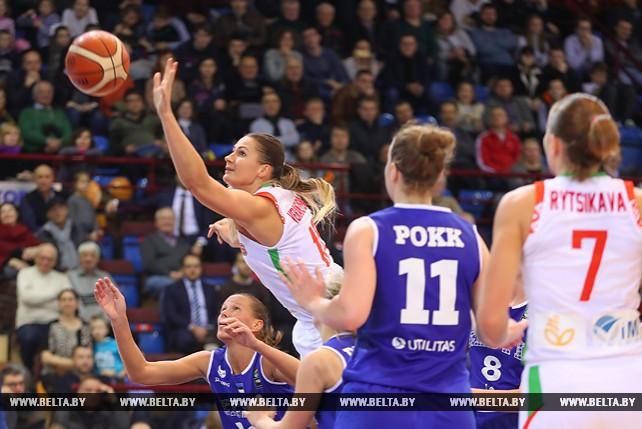 Белорусские баскетболистки одержали вторую победу в квалификации чемпионата Европы