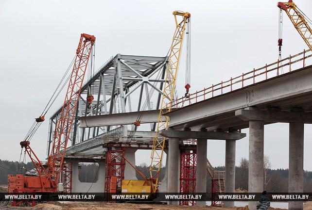 Более Вr14 млн освоено на строительстве мостового перехода в Славгородском районе
