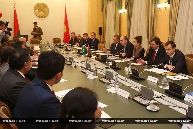 Заседание Совместной Белорусско-Пакистанской комиссии по торговому и экономическому сотрудничеству в Гродно