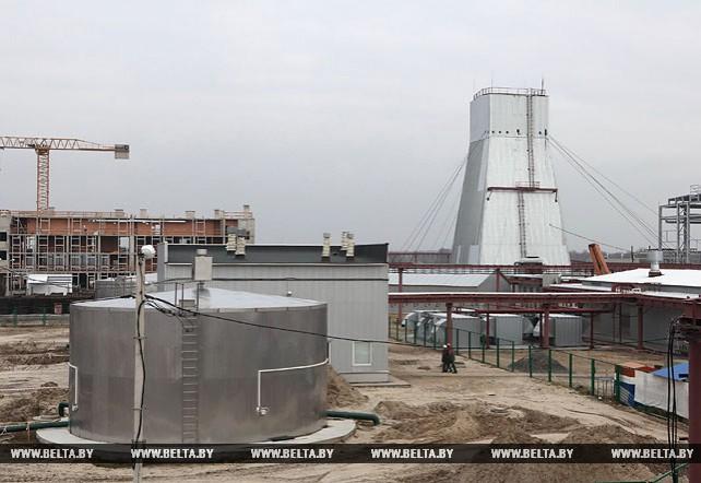 Высокими темпами ведется возведение производственных объектов на строительстве Петриковского ГОКа