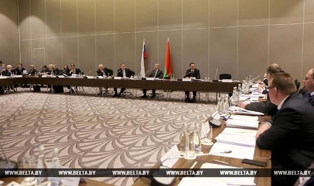 Заседание Группы высокого уровня Совета Министров СГ проходит в Минске