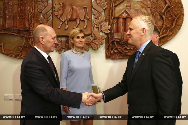 Руководство Гродненского облисполкома встретилось с представителями Всемирного банка