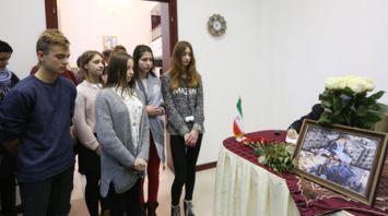 В посольстве Ирана в Минске открыли Книгу соболезнований в связи с жертвами землетрясения