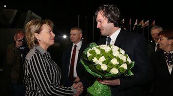 Парламентская делегация Грузии прибыла в Беларусь