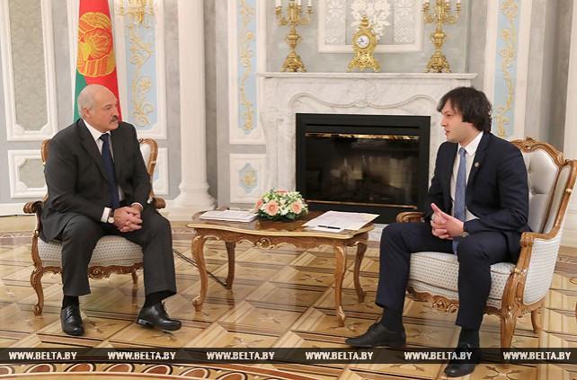 Лукашенко считает вполне реальным достижение белорусско-грузинского товарооборота в $200 млн