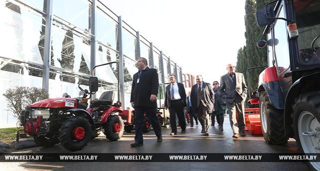 Белорусские продукты питания и сельхозтехника представлены на выставке в Грузии