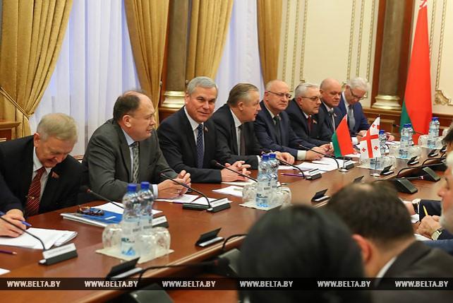 Андрейченко встретился с парламентской делегацией Грузии