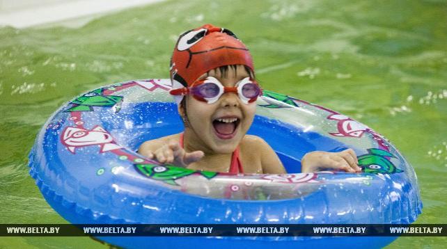 Более 200 детей занимаются в бассейне яслей-сада №36 Новополоцка