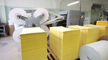 Производство офисной бумаги из вторичных ресурсов открыли на фабрике в Борисове