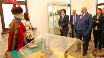 Председатель парламента Грузии посетил Несвиж