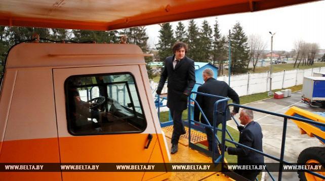 "Председатель парламента Грузии посетил ОАО ""БелАЗ"""