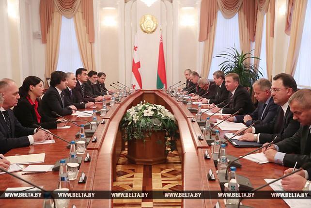 Кобяков встретился с председателем парламента Грузии