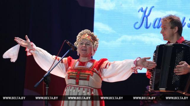 Белорусско-российский фестиваль творчества инвалидов в Могилеве открыл День дружбы