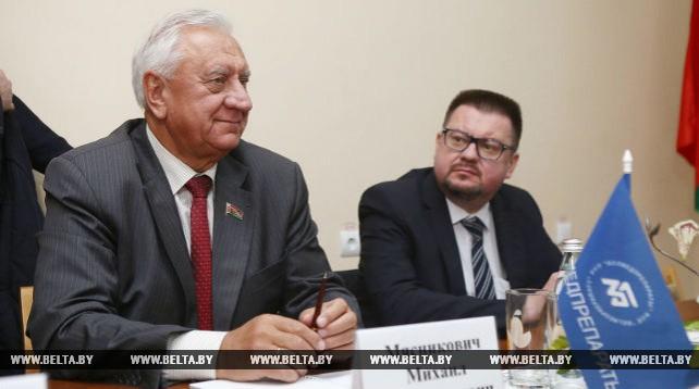 Мясникович совершил рабочий визит в Гродненскую область