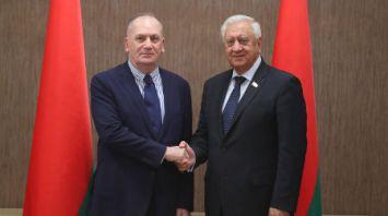 Мясникович встретился с послом Грузии