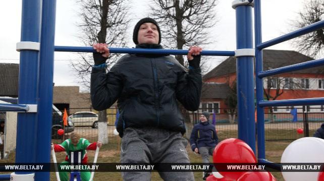 Информационно-спортивный комплекс открылся в Черикове