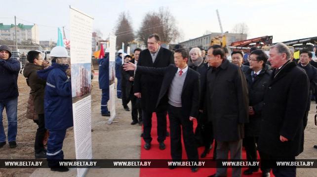 Более 20 домов возведут на втором этапе совместного с КНР проекта по строительству соцжилья