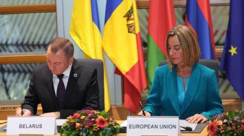 Беларусь на саммите в Брюсселе подписала соглашение о расширении трансъевропейской транспортной сети