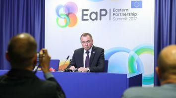 """Итоговая декларация саммита """"Восточного партнерства"""" соответствует ожиданиям Беларуси - Макей"""