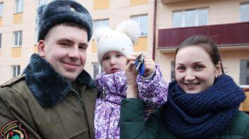 Многоквартирный жилой дом для военнослужащих открыли в Заслоново