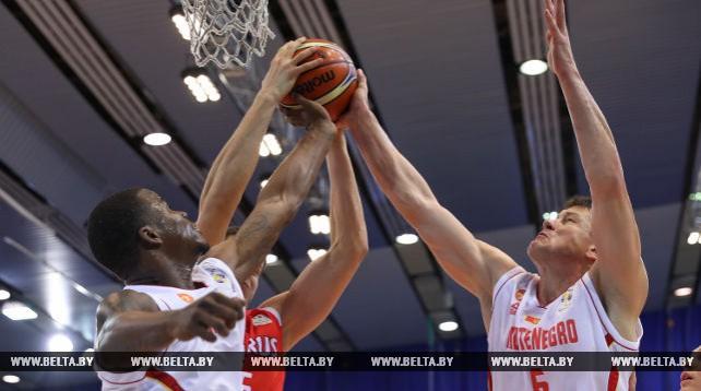 Баскетбольная сборная Беларуси проиграла Черногории в матче квалификации чемпионата мира