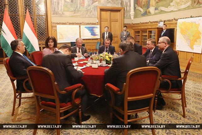 Андрей Кобяков встретился с премьер-министром Венгрии