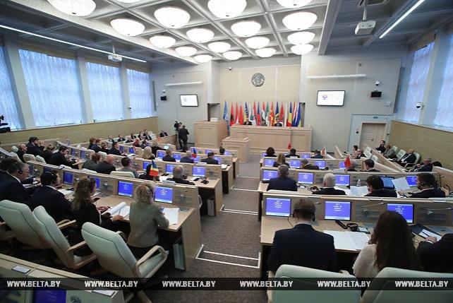 Заседание Парламентской ассамблеи ЦЕИ проходит в Минске