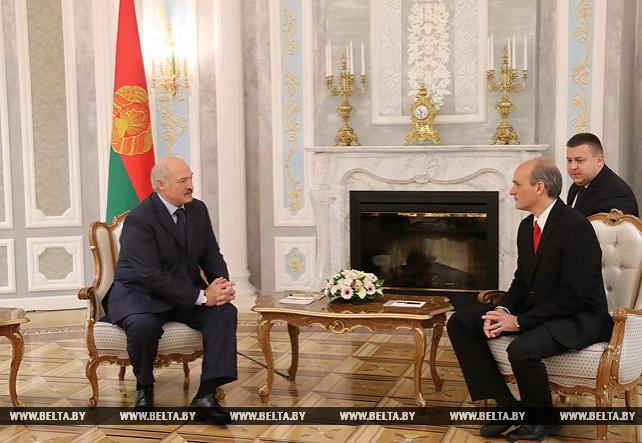 Лукашенко встретился с вице-президентом Венесуэлы