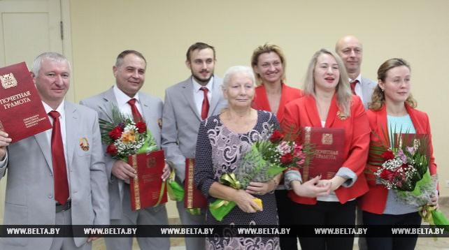 В Гомеле прошло чествование победителей и призеров Дефлимпийских игр