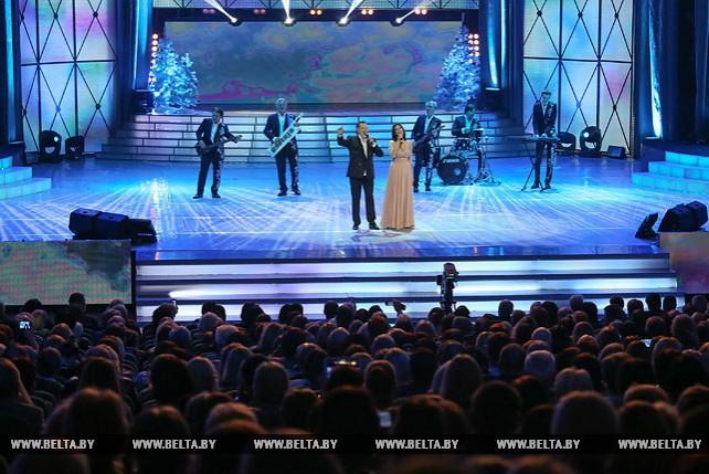 """Музыкальный фестиваль """"Песня года Беларуси"""" прошел во Дворце Республики"""