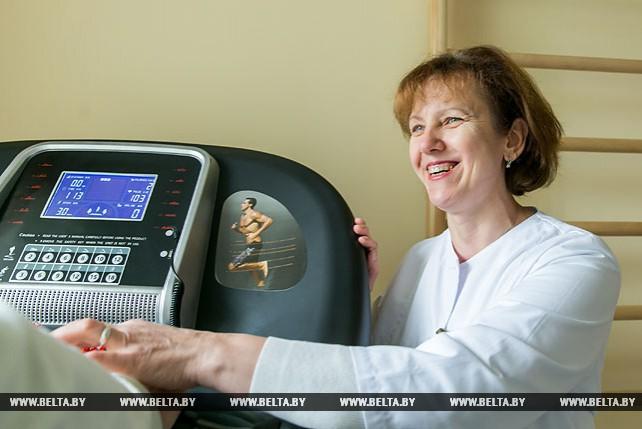 Пружанская больница благодаря проекту ЕС/ПРООН пополнилась оборудованием для реабилитации