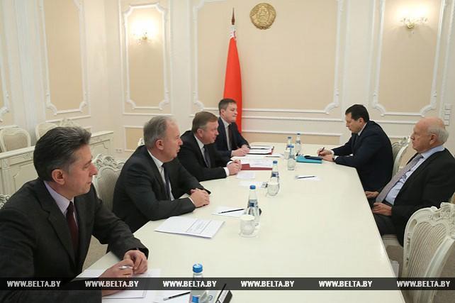 Кобяков встретился с главой Европейских олимпийских комитетов