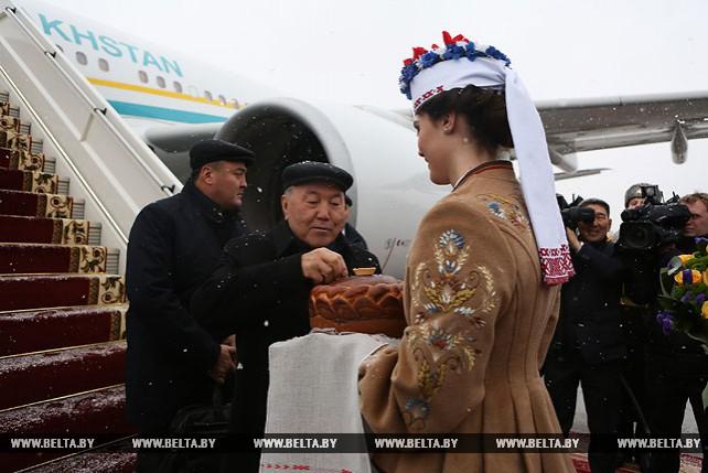 Назарбаев прибыл в Беларусь с официальным визитом