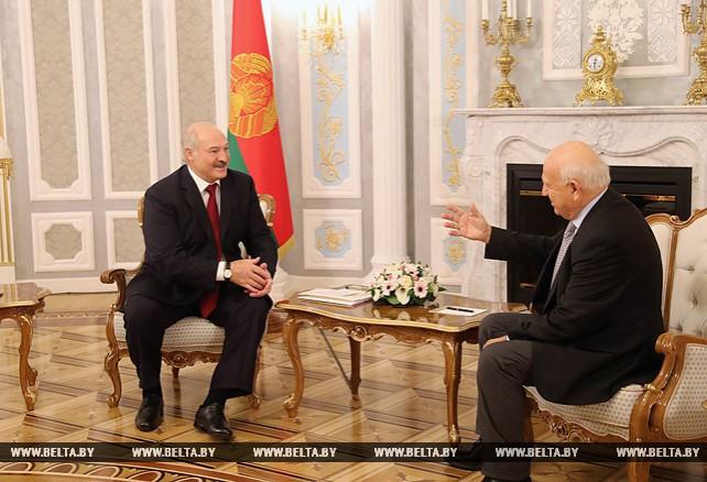 Александр Лукашенко встретился с Янезом Кочианчичем