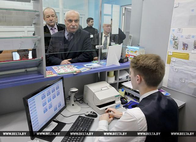 Попков посетил Витебский филиал Белорусской государственной академии связи