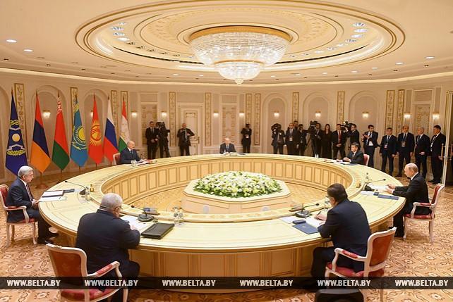 Заседание в узком составе сессии Совета коллективной безопасности ОДКБ