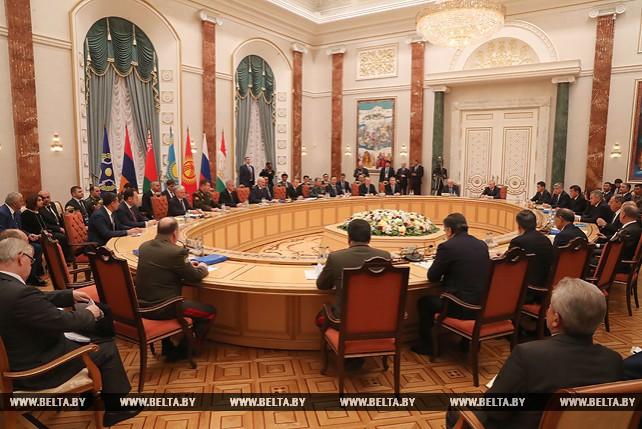 Пленарное заседание сессии Совета коллективной безопасности ОДКБ