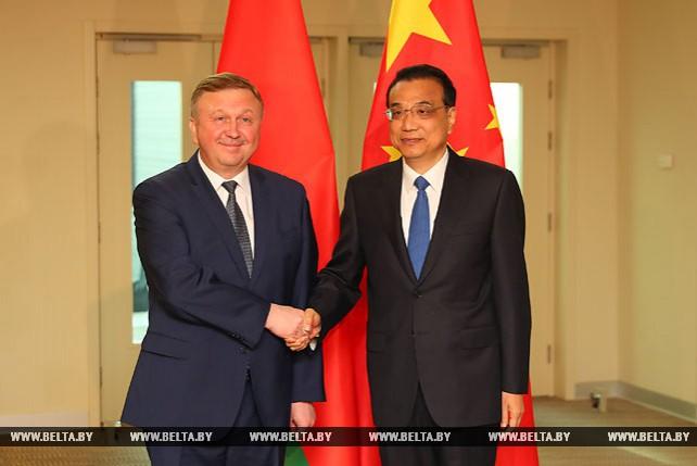 Кобяков встретился с премьером Государственного совета КНР