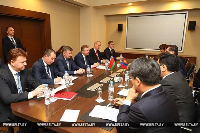 Кобяков провел встречу с заместителем премьер-министра Монголии